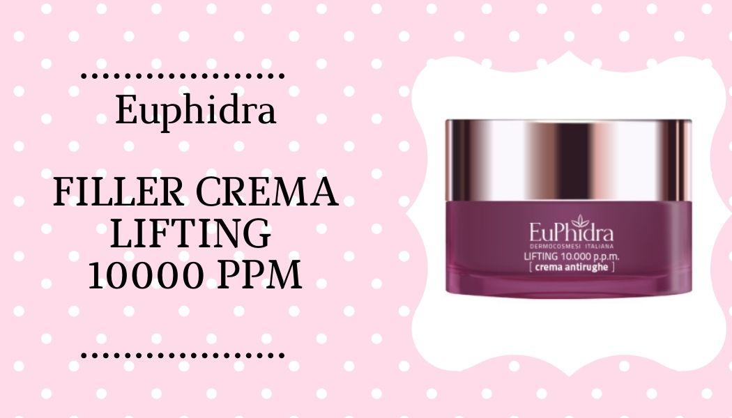 Euphidra Filler Crema Lifting 10000 Ppm
